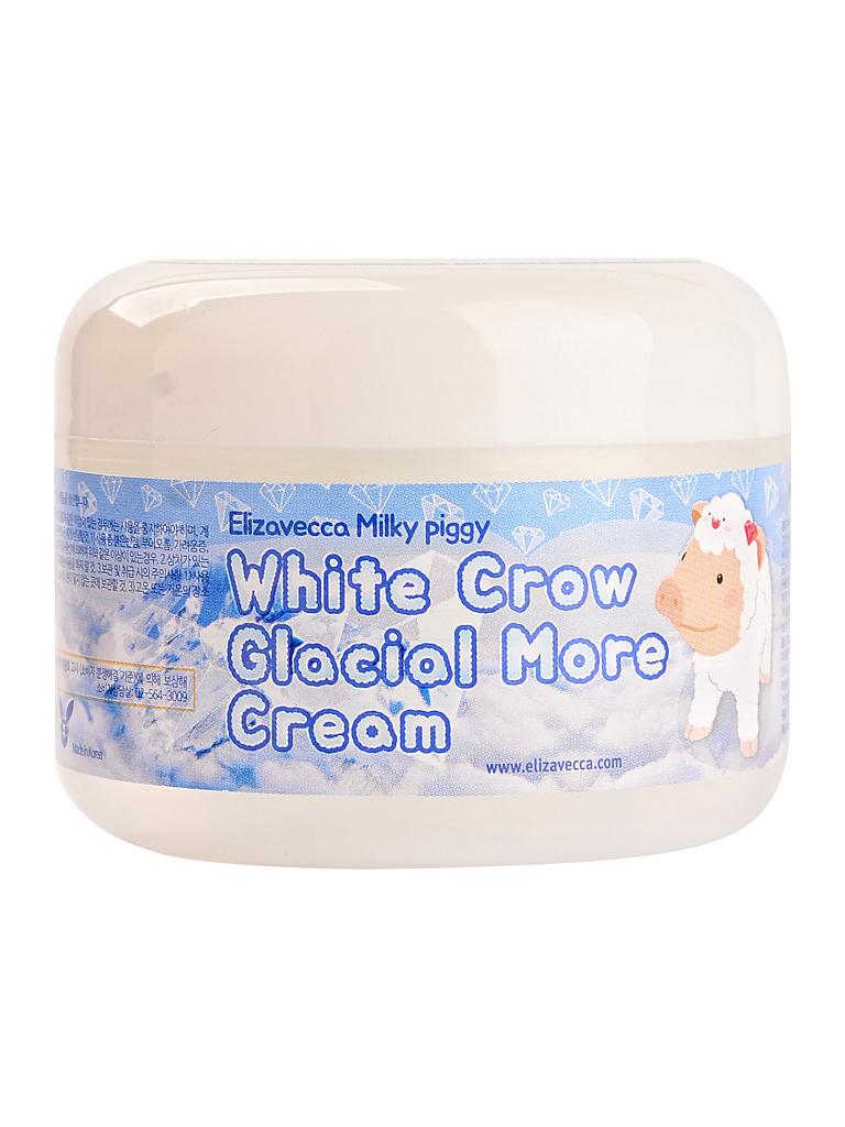 ELIZAVECCA Крем для лица воздушный White Crow Glacial More cream 100гр i32042_1488905886_5.jpg