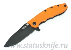 Нож Zero Tolerance 0562ORBLK Orange G-10 DLC CTS-204P