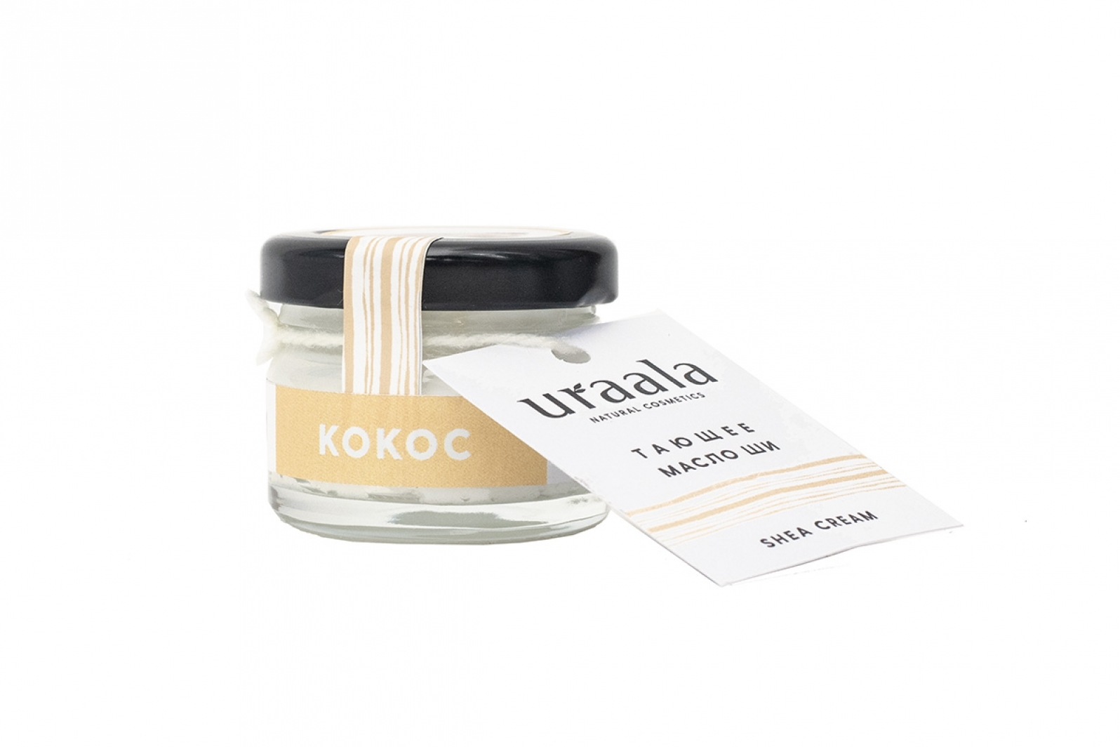 Тающее масло ши КОКОС Ura'ala, 100 мл