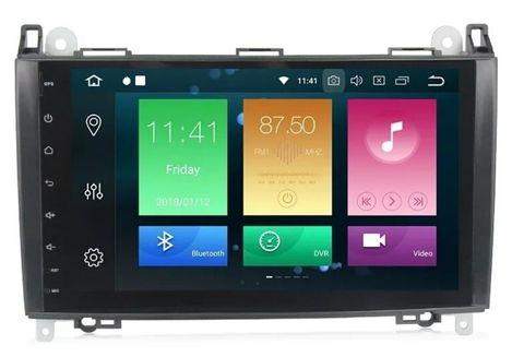 Магнитола Mercedes-Benz  A/B class/Vito/Viano Android 9.0 4/64GB IPS DSP модель 9A916PX5