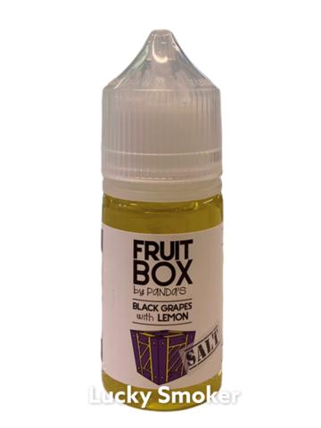 Жидкость Fruit Box Salt 30 мл Black Grapes Lemon