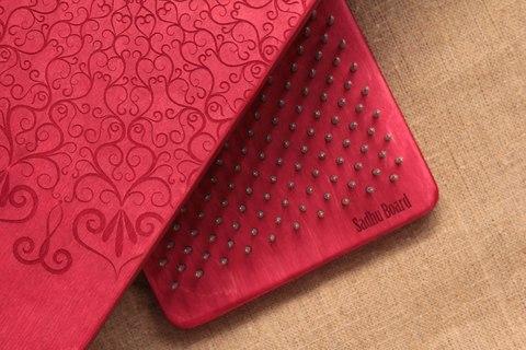 Доска с гвоздями Sadhuboard Red c подставкой