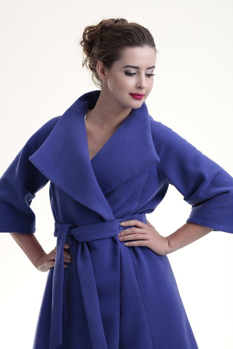 Пальто для беременных 07702 фиолетовый