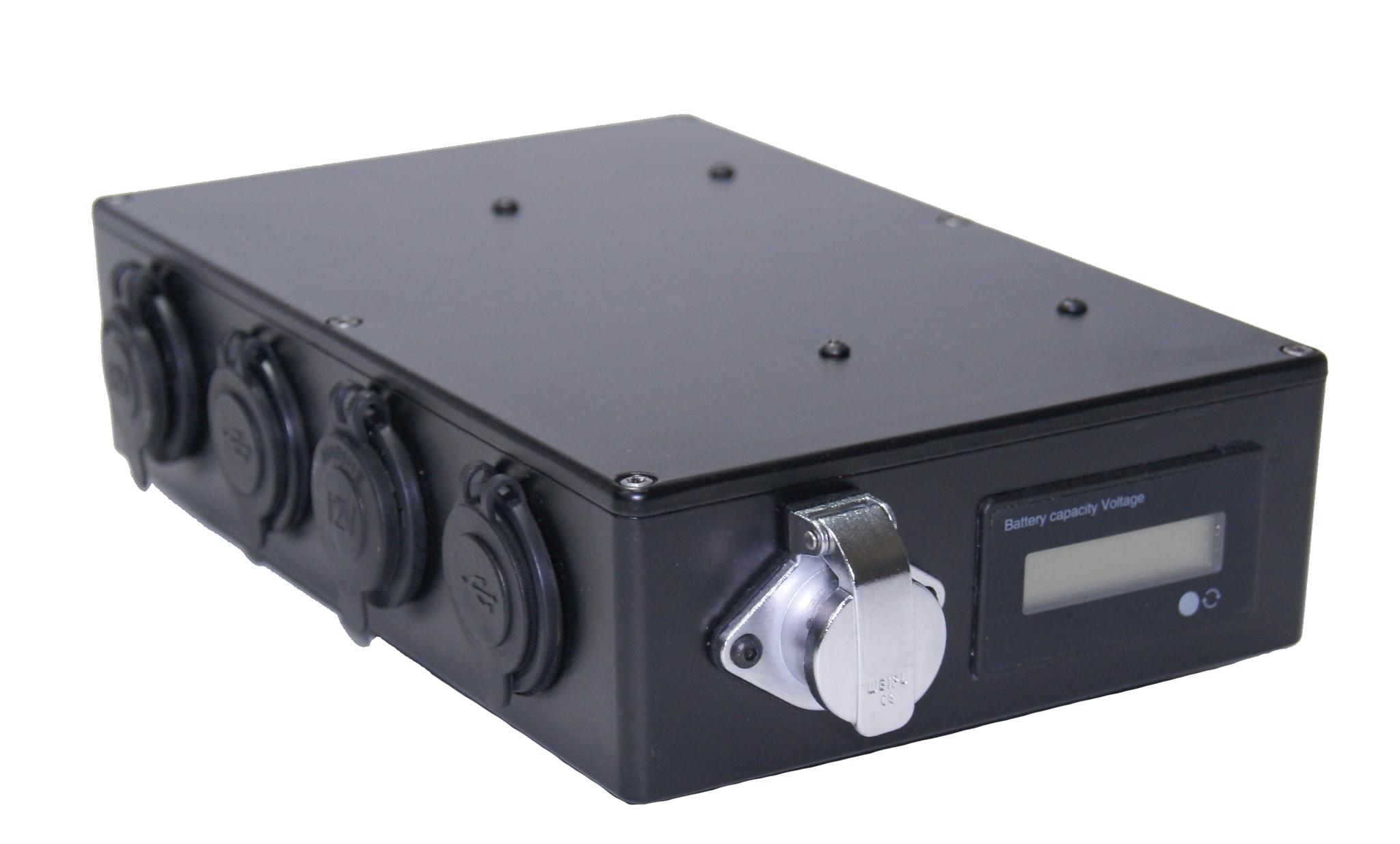Коллектор на 4 порта USB и 4 модуля прикуривателя для AVP-ВВ-L