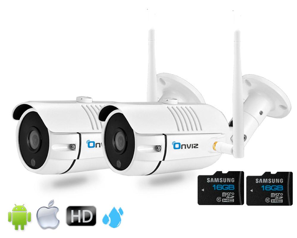 Комплекты видеонаблюдения (IP Wi-Fi камеры 2021 года) Комплект из 2-х Уличных Wi-Fi  камер глав2.jpg