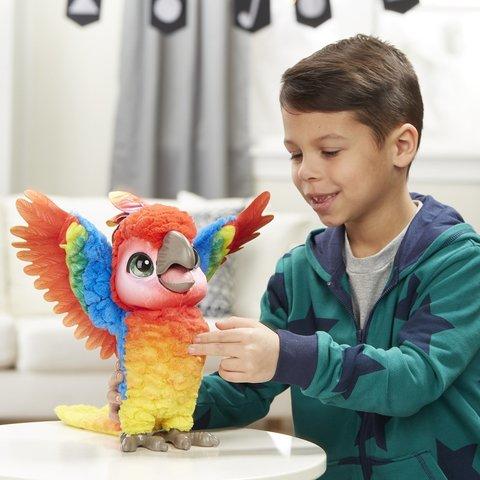 FurReal Friends интерактивная игрушка поющий попугай Кеша