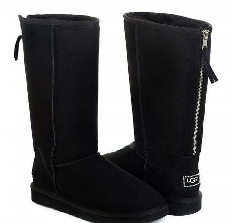 UGG Tall Zip Black