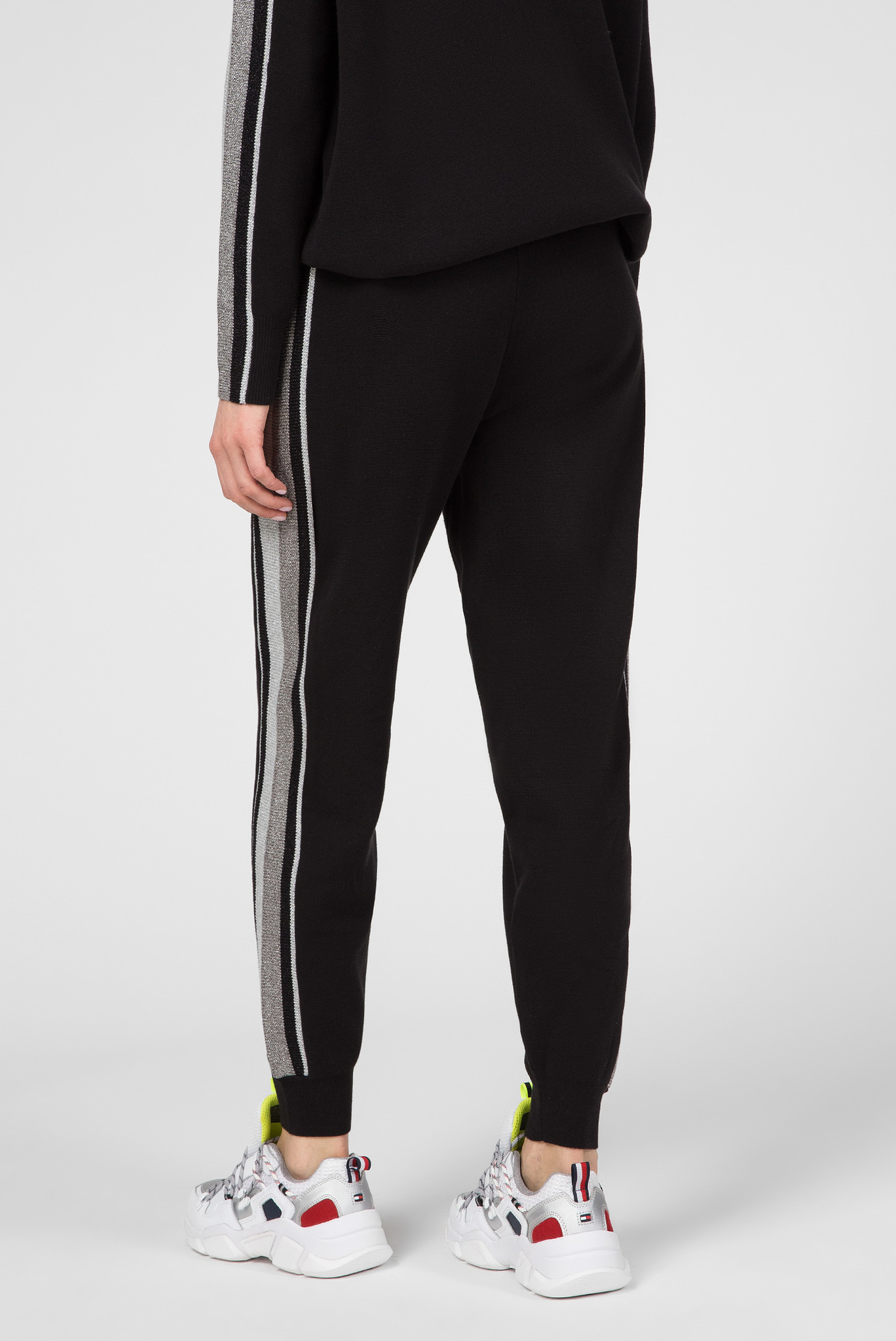 Женские черные спортивные брюки CACIE Tommy Hilfiger