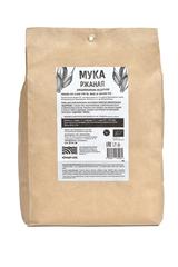 Мука ржаная хлебопекарная обдирная 2 кг, БИО (Черный хлеб)