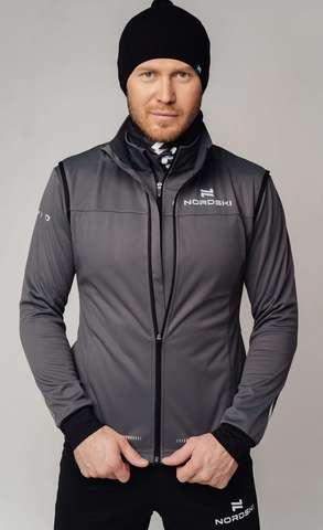 Разминочная куртка Nordski Pro graphite мужская