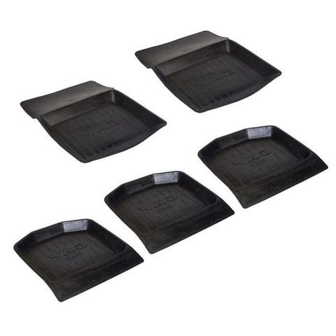 Коврик Уаз 469 резиновый корыто (комплект 5 штук)