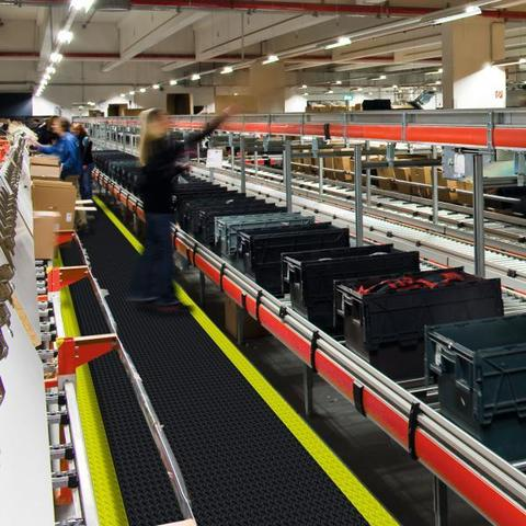 Коврик для рабочего места Top Ширина 91 см чёрный