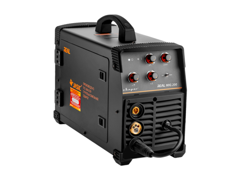 Аппарат для полуавтоматической сварки СВАРОГ REAL MIG 200 (N24002N) Black