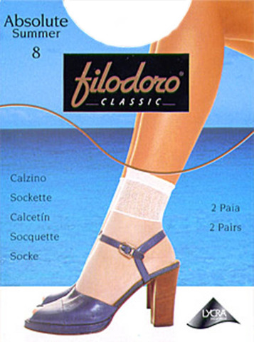 Женские носки Absolute Summer 8 (2 пары) Filodoro