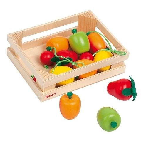 Набор фруктов в ящике, 12 эл.