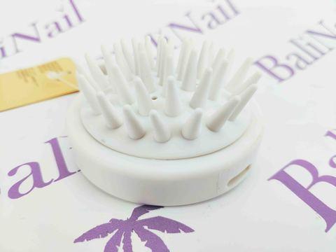 Щёточка профессиональная круглая для мытья волос с мягкими зубчиками