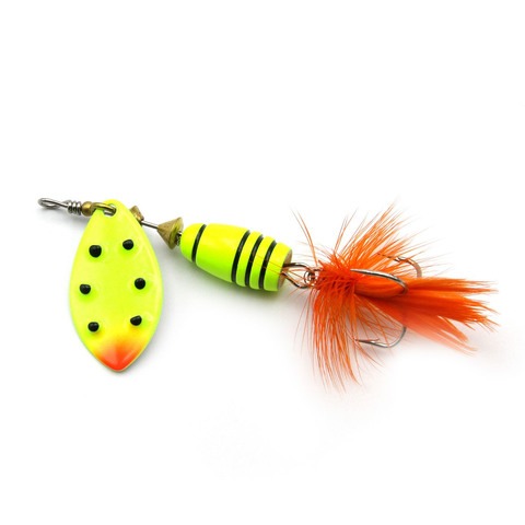 Блесна Extreme Fishing Total Obsession №1 5g 14-FluoYellow/FluoYe