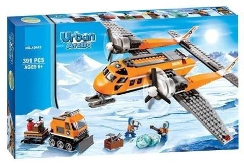 Конструктор Urban 10441 Арктический грузовой самолёт