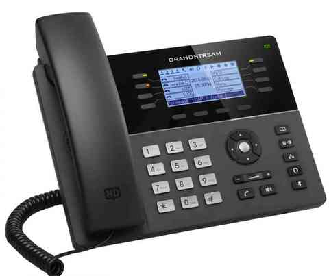 Grandstream GXP1782 - IP телефон. 4 SIP аккаунта, 8 линий, PoE, (1GbE)Gigabit Ethernet, 32 virtualBLF