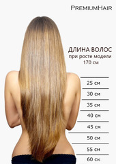 Линейка длины волос