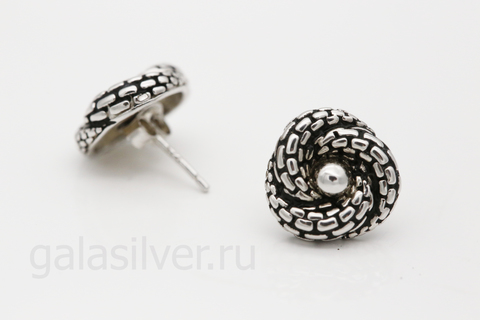 Серьги из серебра 925