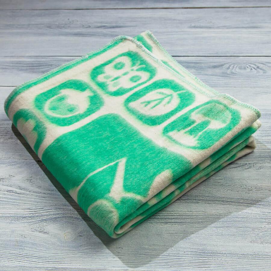 Одеяло байковое для новорожденных