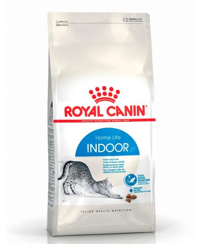 Royal Canin Indoor 27 сухой корм для кошек, живущих в помещении 2 кг