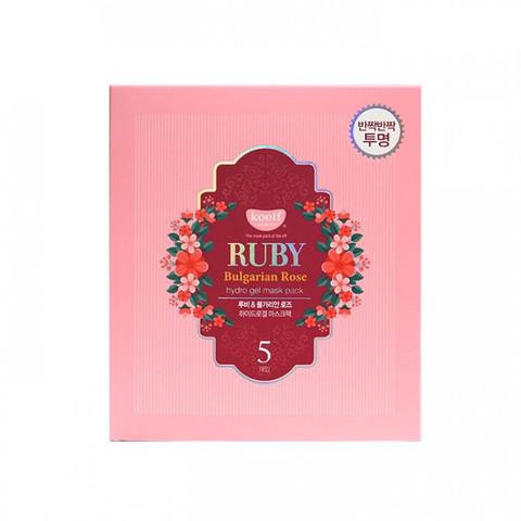 koelf RUBY Bulgarian Rose hydrogel mask pack