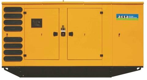 Дизельный генератор Aksa APD825M в кожухе