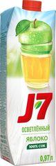 Сок J7  осветленный яблоко  0,97л