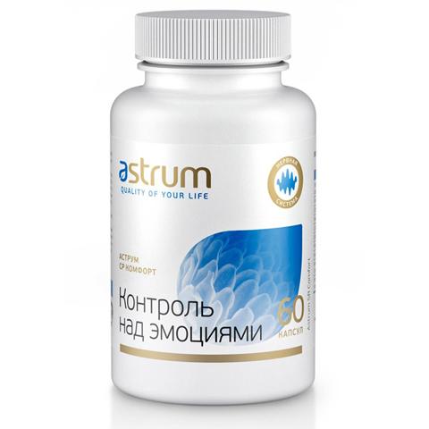 Astrum БАДы: Биодобавка Аструм СР Комфорт (Контроль над эмоциями), 60капсул