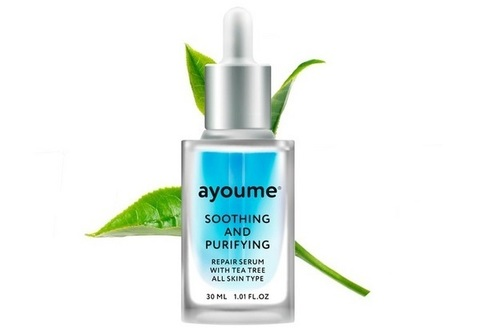 Сыворотка Repair Serum with Tea Tree Soothing-&-Purifying 30мл AYOUME