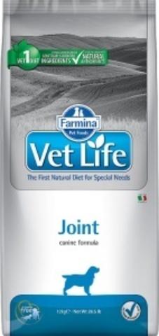 Сухой корм Farmina VET LIFE Canine Joint диета для собак 12 кг