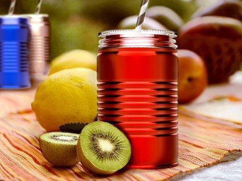 Кружка Asobu I can (0,54 литра), красная