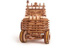Механический 3D-пазл из дерева Wood Trick Погрузчик
