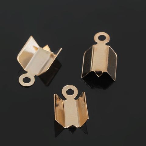 Зажим для ленты, цвет золото, 10 мм