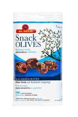 Оливки Каламата без косточки со специями 80 гр