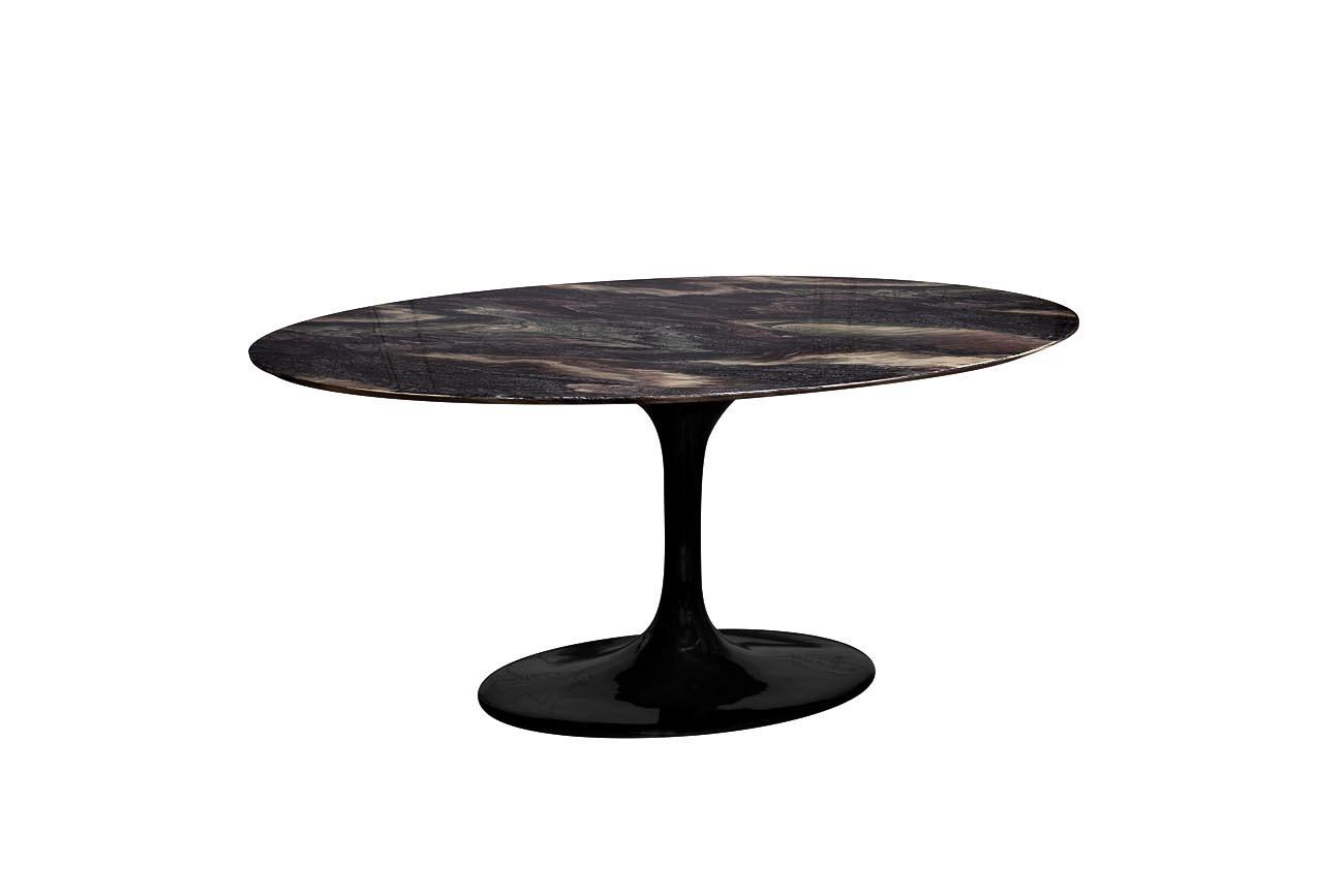 33FS-DT3056-BL Стол обеденный овальный Cippolo 170*110*76,2 см