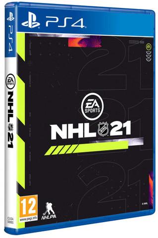 NHL 21 (PS4, русские субтитры)