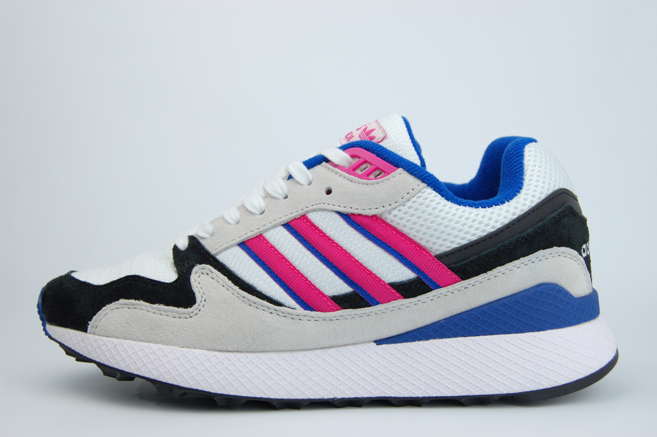 кроссовки Adidas Ultra Tech White / Black / Pink