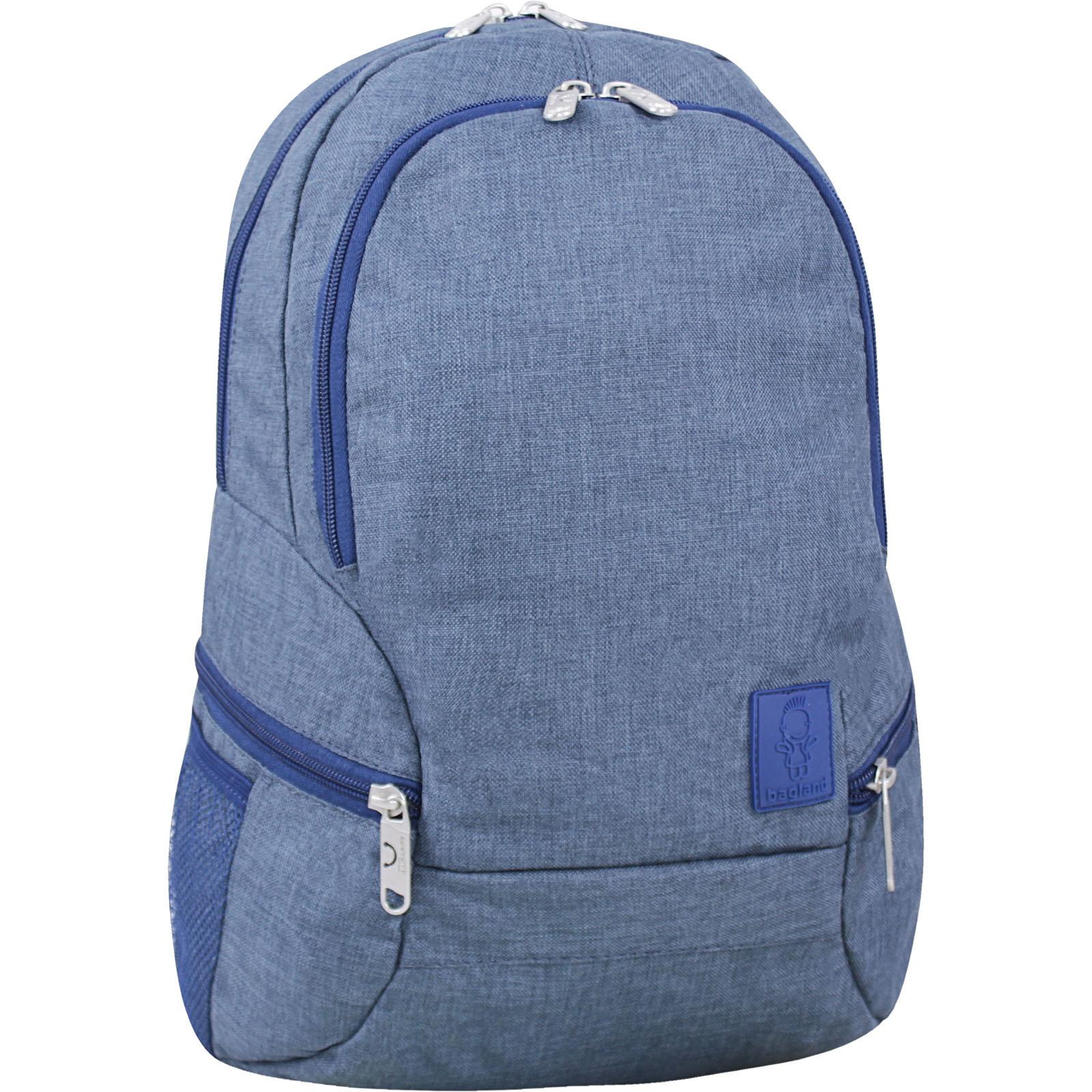 Городские рюкзаки Рюкзак Bagland Urban 20 л. Темно серый (0053069) IMG_6744-1600.jpg