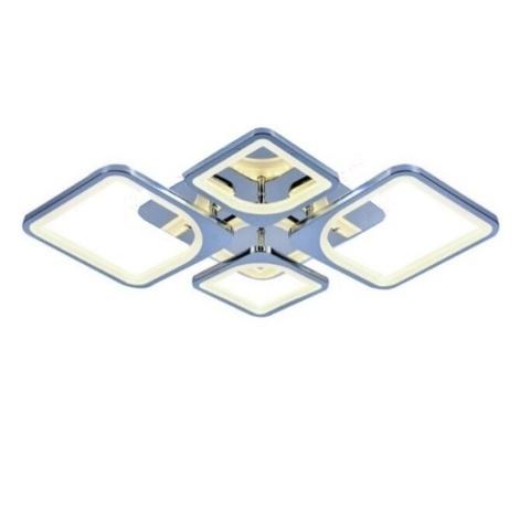 Потолочная светодиодная люстра CX-8036/2+2 CR