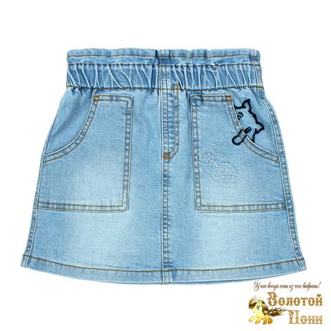 Юбка джинсовая девочке (3-7) 210523-OP1155