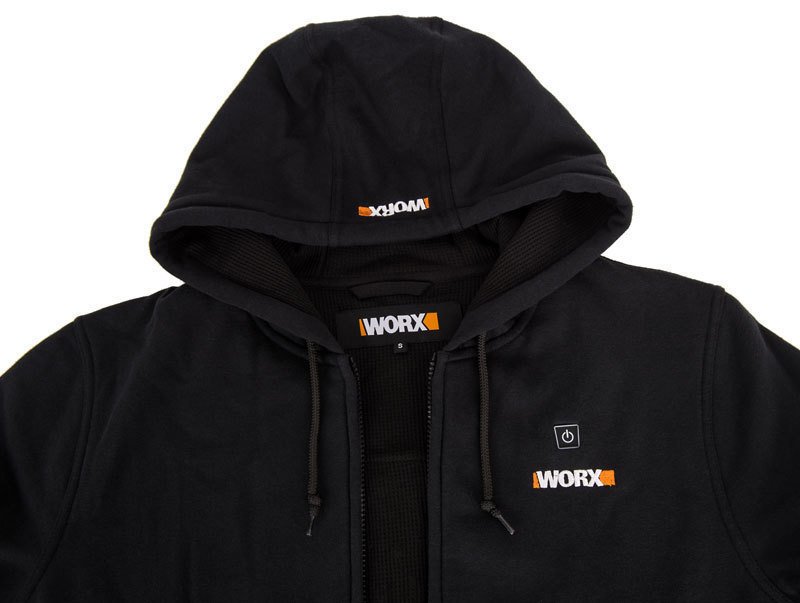 Куртка с подогревом Worx WA4660 XL черная