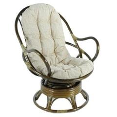 Кресло механическое из ротанга Vinotti Торнадо Олива