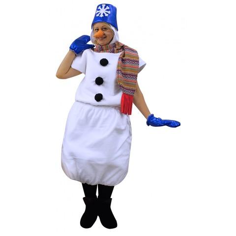 Костюм Снеговик в синем ведре