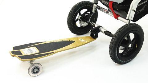 Подножка TFK Multiboard для коляски Joggster Adventure/Sport для второго ребенка Mamaboard купить в Екатеринбурге