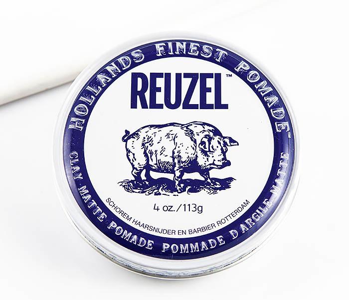 CARE127 Глина для укладки волос Reuzel Clay Matte Pomade (113 гр)