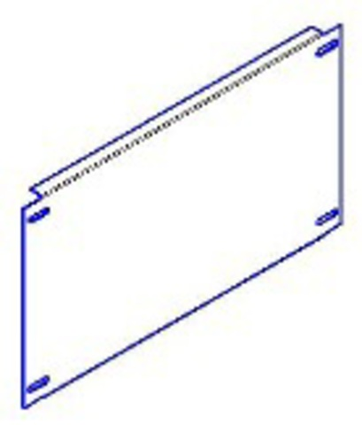 Панель монтажная 500х745 для ЩМП-х.8.4 TDM