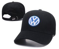 Модная бейсболка с вышивкой Volkswagen (Кепка Фольксваген) черная 02